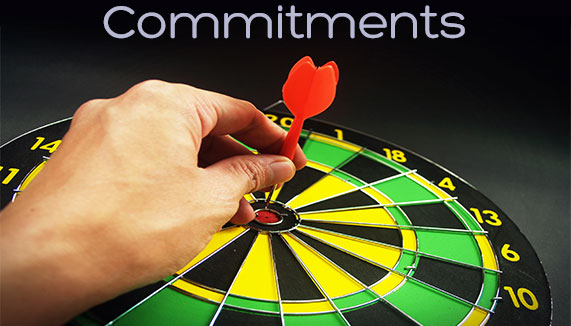 commitments for startup