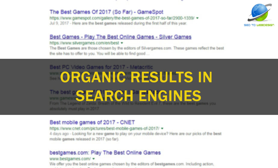 What are Organic Results in the Search Engines